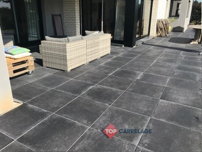 carrelage sur plot 20mm